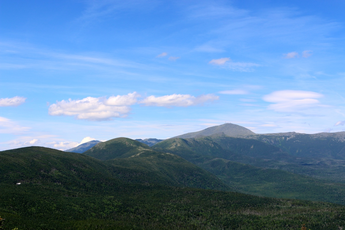 Mount Jackson, Mizpah Hut and down Crawford's Path, White Mountain Hiking, NH.