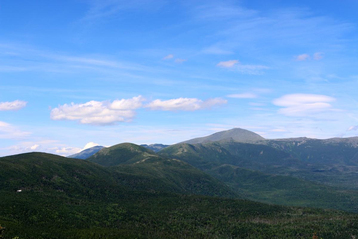 Mount Jackson, Mizpah Hut and down Crawford's Path, White Mountain Hiking,NH.