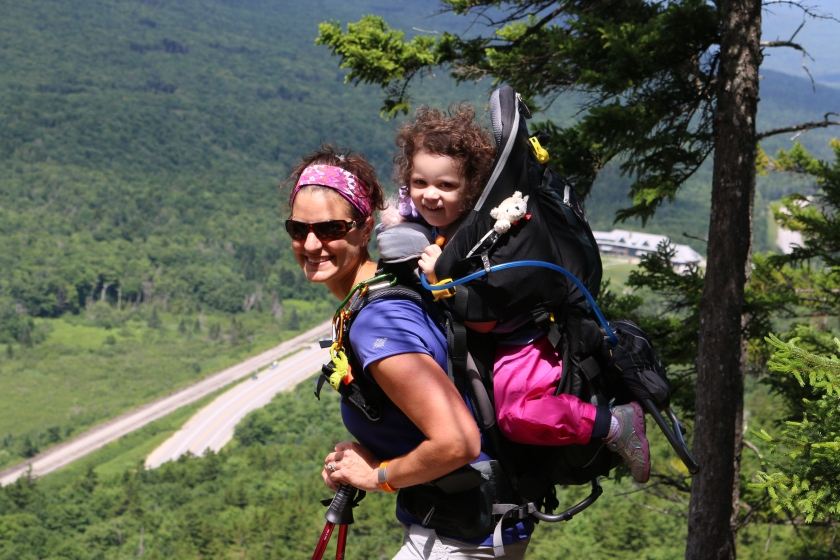 Mom and Daughter on the Cliff, Kid Comfort III