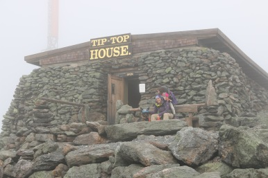 Tip Top House, old hotel at the summit