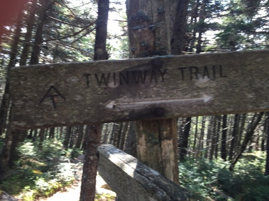 Twinway Trail Sign